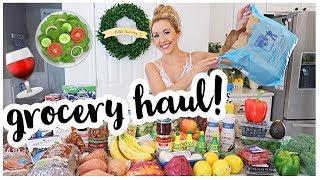 MEDITERRANEAN DIET GROCERY HAUL! 🥗🍋🍷ALL THE FOOD FOR THE MEDITERRANEAN DIET MEAL PLAN | Brianna K
