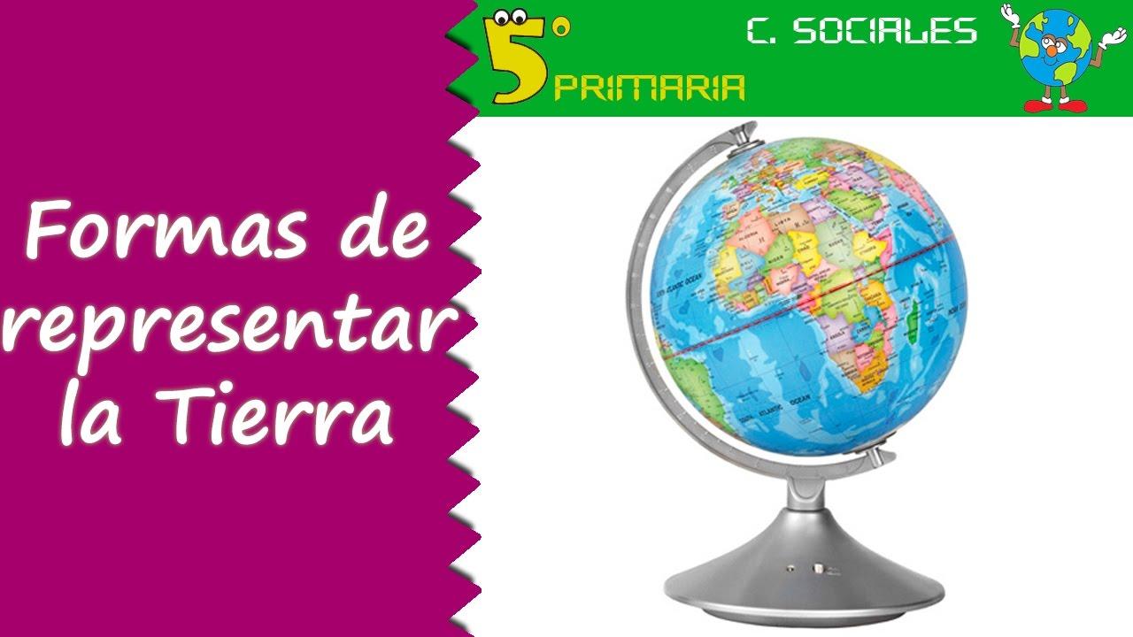 Representar la Tierra. Sociales, 5º Primaria. Tema 2
