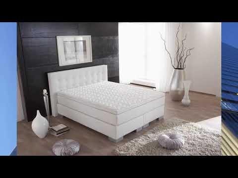 Moderne Schlafzimmer mit Boxspringbett 2019