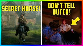 10 Things You Didn't Know You Could Do In Red Dead Redemption 2! (RDR2 Tips & Tricks)