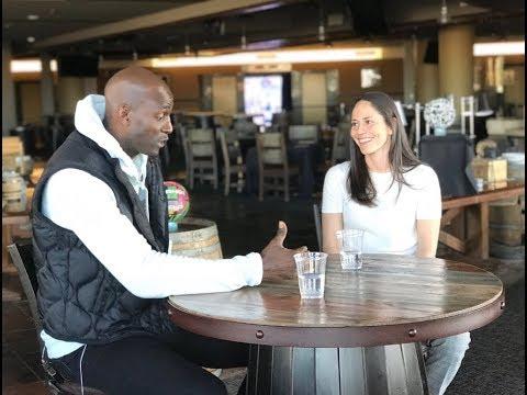 Sue Bird Interview With Kevin Garnett On TNT's Area 21!