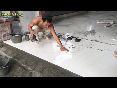 How To Install Floor Tile –  Using Ceramic Tiles