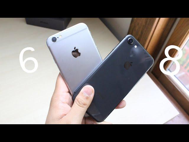 Medidas iphone 6s vs 8