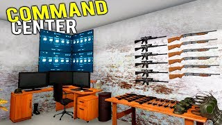 MANSION BASEMENT TURNED INTO APOCALYPSE BUNKER COMMAND CENTER! - House Flipper Gameplay