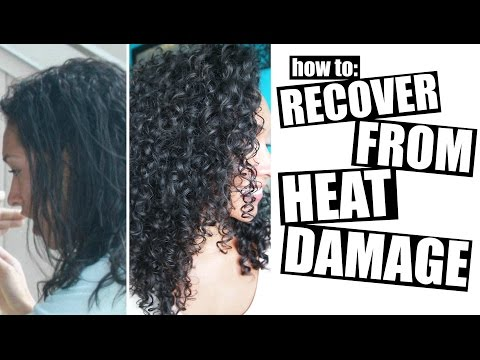 Video How To Recover From Heat Damage To Healthy Curly Hair