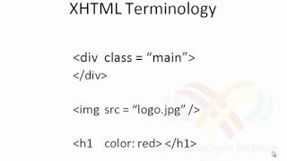 Lesson - 02: What is XHTML? (Hindi Video tutorial)