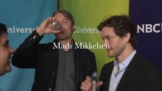 Hugh Dancy Mads Mikkelsen Hannibal Interview
