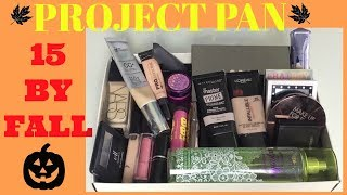 Project Pan | 15 By Fall FINALE!