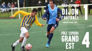 Pôle Espoirs Dijon (P14) - Pôle Grand Est : 1-4