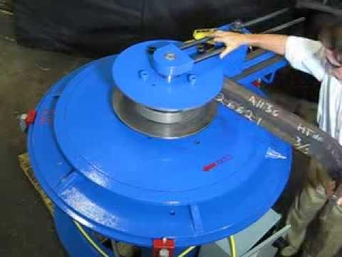 Plate Bending .75 IN x 6 IN AH 36 HSS 7 5 IN Inside Radius Marine Application
