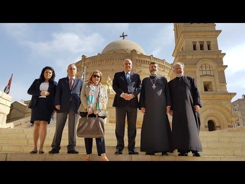 Επίσκεψη του ΥΦΥΠΕΞ Τ. Κουΐκ στον Αγ. Γεώργιο π. Καΐρου