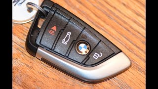 DIY BMW - How To Change SmartKey Key Fob Battery On BMW X3 X5 X6