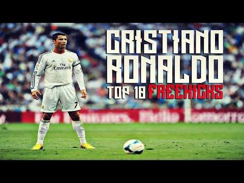 Cristiano Ronaldo - Top 10 Best Freekicks of All time