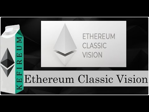 Ethereum Classic Vision (ETCV) - новый хардфорк от Ethereum