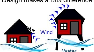 Yolanda Typhoon House Design for Flooding and Earthquake