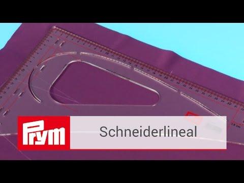 Das Prym Schneiderlineal für genaue Handarbeiten | Prym Zubehör