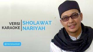 (VERSI KARAOKE) UST JEFRI - SHALAWAT NARIYAH