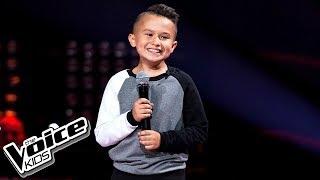 """Oliwier Szot - """"Ulepimy dziś bałwana"""" - Przesłuchania w ciemno - The Voice Kids 2 Poland"""