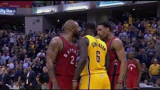 Lance Stephenson incites Toronto Raptors