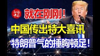 中国传出特大喜讯,特朗普气的捶胸顿足!