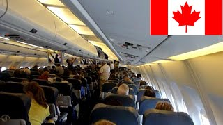 Gambar cover FLIGHT TO MONTREAL - TAKE PLANE - ASMR PLANE AMBIANT - VOL FRANCE CANADA