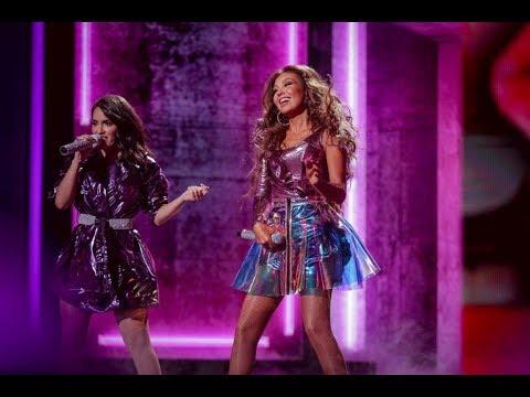 Thalia ft Lali y Natti Natasha - Lindo Pero Bruto / No Me Acuerdo [En Vivo] | Premio Lo Nuestro 2019