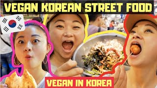 ULTIMATE VEGAN STREET FOOD TOUR of Seoul | VEGAN IN KOREA 🌱🇰🇷