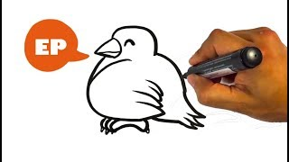 How To Draw Cute Cartoon Bird Free Video Search Site Findclip