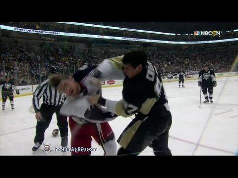 Sidney Crosby vs. Brandon Dubinsky
