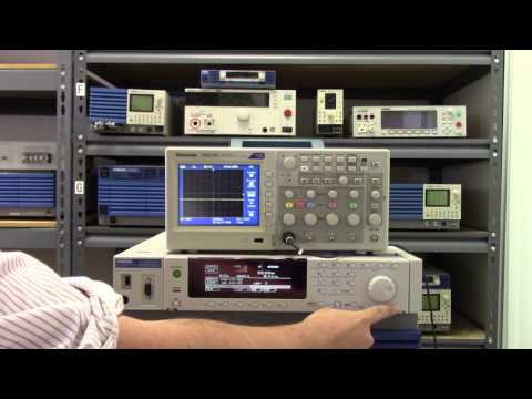 Video of Kikusui PCR-LE AC & DC Power Supply - AC Line Simulation, DO160, MIL 704, IEC61000-4-11 Compliant