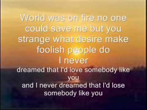 Chris Isaak Wicked Game With Lyrics Chords