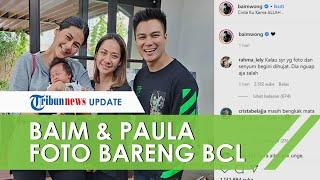 Momen BCL Foto Bareng Baim Wong dan Paula, Tersenyum dengan Wajah yang Masih Pucat dan Mata Sembab