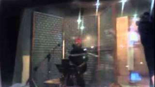 Chris Brown recording T.Y.A. 02/02/10 06:45PM