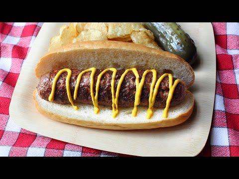 "Hot Dog Sausage aka ""Hot Dogage"" – How to Make Fresh Hot Dog Spiced Sausage"