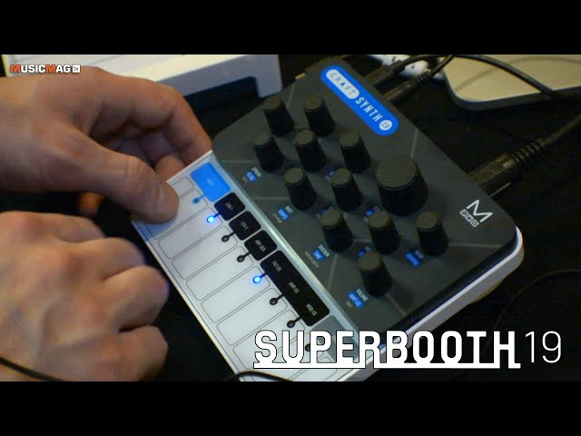 Modal Electronics Craft Synth 2: карманный синтезатор (Superbooth19)