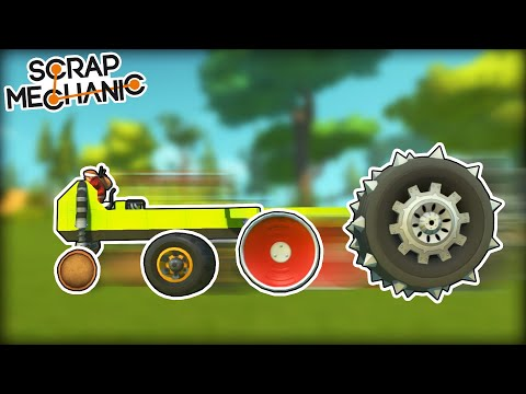 Racing Except at Every Checkpoint You Change Wheels! (Scrap Mechanic Multiplayer Monday)