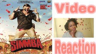 Simmba | Official Trailer | Reaction | Ranveer Singh | Sara Ali Khan | Sonu Sood | Rohit Shetty.