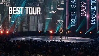 Taylor Swift - Best Tour (The 1989 World Tour) @ iHeartRadio Music Awards 2016 Los Angeles Live