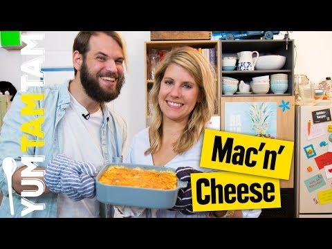 Mac'n'Cheese // Nudelauflauf mit jeder Menge Käse // #yumtamtam