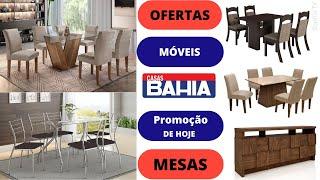 CASAS BAHIA OFERTA DO DIA MÓVEIS MESAS SALA DE JANTAR E COZINHA Promoção De Hoje 2019 | SOPHIA TV