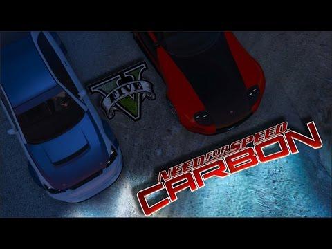 Gta V Nfs Carbon Canyon Duel Bmw M3 Gtr Vs Mazda Rx 7 Ps4