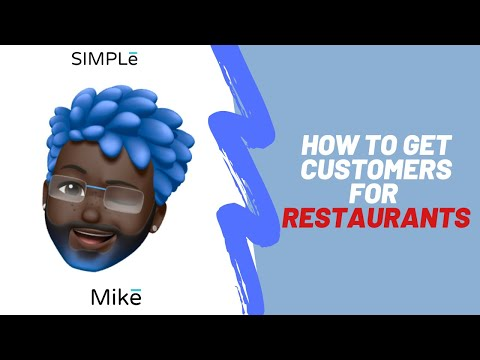 How To Get Customers For Restaurants