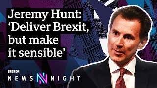 UK Election: 'It Is Essential We Implement The Referendum Result'   BBC Newsnight