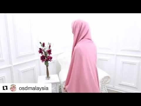 Video OKI SETIANA DEWI tutorial jilbab syar'i segi empat/ 07 maret 2017