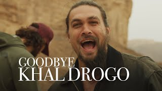 Goodbye Drogo...I SHAVED!