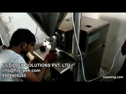 Semi Automatic Ghee Filling Machine