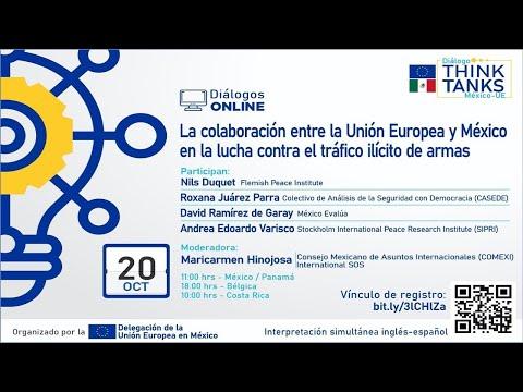 La colaboración entre la UE y México en la lucha contra el tráfico ilícito de armas