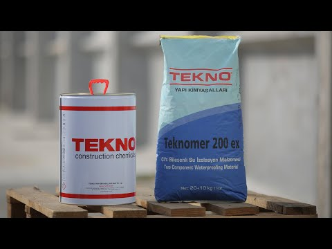 Waterproofing mixture Teknomer 200 EX