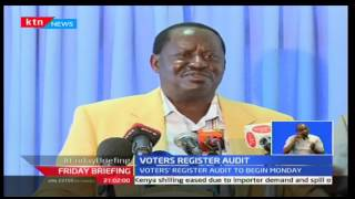 Raila Odinga and Mudavadi accuse Jubilee and IEBC of laying grounds for a pre-election rigging