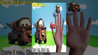 Cars – Finger Family Song Collection – Nursery Rhymes Cars Finger Family for Kids